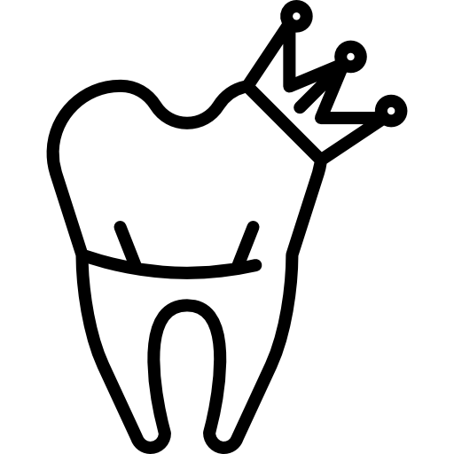 crowned-tooth