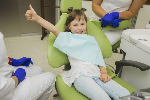 Kids at dental